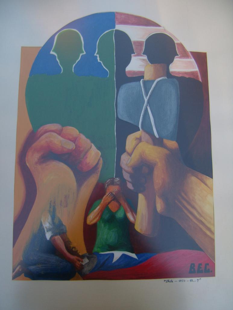 Chileense muurschildering